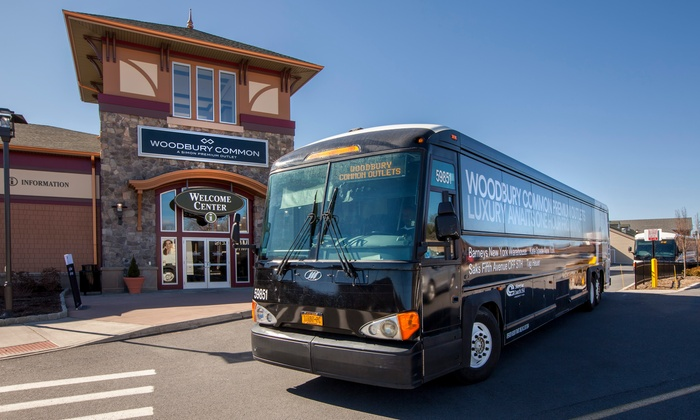 Round-Trip Service to Woodbury Common Premium Outlets
